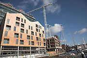 Urban redevelopment, Ipswich Wet Dock, Suffolk, England