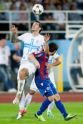 during football match between HNK Rijeka and HNK Hajduk Split in 11th Round of Prva Hrvaska Nogometna Liga MaxTV 2013/14 on September 28, 2013 in Stadion Kantrida, Rijeka, Croatia. (Photo By Urban Urbanc / Sportida.com)