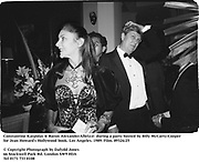 Constantine Karpidas & Baron AlexanderAlbrizzi  during a party hosted by Billy McCarty-Cooper for Jean Howard's Hollywood book. Los Angeles. 1989. Film.89324/25<br /><br />© Copyright Photograph by Dafydd Jones<br />66 Stockwell Park Rd. London SW9 0DA<br />Tel 0171 733 0108