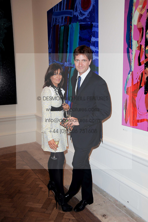 Kris Thykier and Claudia Winkleman at the Royal Academy of Arts Summer Party held at Burlington House, Piccadilly, London on 9th June 2010.