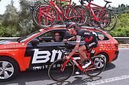 Manuel SENNI (ITA), Team BMC Racing Team (USA), Car, during the 100th Tour of Italy 2017, Giro d'Italia, Stage 1, Alghero - Olbia (206km), on May 5, in Sardegna, Italy - Photo Tim De Waele / ProSportsImages / DPPI