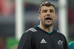 January 19, 2019 - Limerick, Ireland - Tadhg Beirne of Munster during the Heineken Champions Cup match between Munster Rugby and Exeter Chiefs at Thomond Park in Limerick, Ireland on January 19, 2019  (Credit Image: © Andrew Surma/NurPhoto via ZUMA Press)