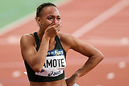 Renelle Lamotte competes and reacts in women 800m during the Meeting de Paris 2018, Diamond League, at Charlety Stadium, in Paris, France, on June 30, 2018 - Photo Philippe Millereau / KMSP / ProSportsImages / DPPI