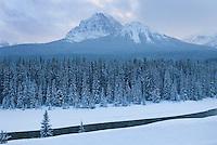 Mount Temple, Banff National Park Alberta Canada