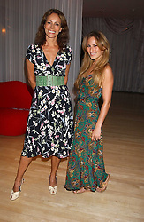 Left to right, ANDREA DELLAL and her daughter CHARLOTTE DELLAL at party in aid of cancer charity Clic Sargent held at the Sanderson Hotel, Berners Street, London on 4th July 2005.<br /><br />NON EXCLUSIVE - WORLD RIGHTS