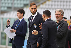 October 5, 2017 - Turin, Piedmont, Italy - Gianluigi Donnarumma during the media day on the eve of the FIFA World Cup European Qualifying match between Italy and FYR Macedonia at Olympic Grande Torino Stadium on 5 October, 2017 in Turin, Italy. (Credit Image: © Massimiliano Ferraro/NurPhoto via ZUMA Press)