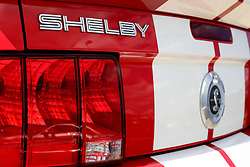 03 June 2007: Late model Ford Mustang Cobra GT500 Shelby. Automotive shots from The Central Illinois Ford Day, held at Dennison Ford in Bloomington, IL.