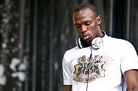 ATHLETICS - JAMAICA PARTY - HOTEL DE VILLE - PARIS (FRA) - 15/07/2010 - PHOTO : PHILIPPE MILLEREAU / DPPI<br /> DJ USAIN BOLT