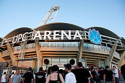 24.08.2011, UPC Arena, Graz, AUT, CL-Playoff, SK Sturm Graz vs. Bate Borisow, im Bild Fans vor der UPC Arena, EXPA Pictures © 2011, PhotoCredit: EXPA/ Erwin Scheriau