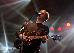 © Licensed to London News Pictures. 24/06/2015. Bristol, UK.  GEORGE EZRA in concert at the Summer Series.  Photo credit : Simon Chapman/LNP