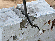 It's metal and power vs. old bricks. And those bricks are losing -- badly.