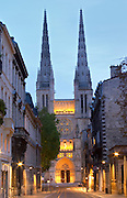 Cathedral Saint Andre. Bordeaux city, Aquitaine, Gironde, France