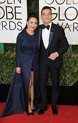 Rami Malek at the 74th Annual Golden Globe Awards.<br />(Beverly Hills, CA)