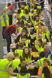 SCOTTISH PARLIAMENTARY ELECTION 2016 – Counting Agents and Election agents at Royal Highland Centre, Edinburgh<br />(c) Brian Anderson   Edinburgh Elite media