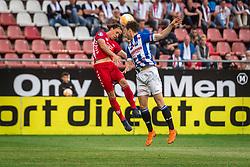 12-05-2018 NED: FC Utrecht - Heerenveen, Utrecht<br /> FC Utrecht win second match play off with 2-1 against Heerenveen and goes to the final play off / (L-R) Giovanni Troupee #20 of FC Utrecht, Kik Pierie #5 of SC Heerenveen