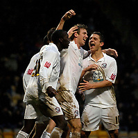 Photo: Jed Wee/Sportsbeat Images.<br /> Bradford City v Hereford United. Coca Cola League 2. 29/12/2007.<br /> <br /> Hereford celebrate with goalscorer Dean Beckwith (C).