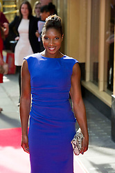 © Licensed to London News Pictures 09/02/2011 London, UK. .Denise Lewis arrives at the Waldorf Hotel, London for the seventh Tesco Mum of the Year Awards..Photo credit : Simon Jacobs/LNP