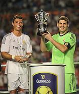 Real Madrid v Chelsea 070813