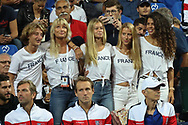 Women of the players during the 2018 Davis Cup, semi final tennis match between France and Spain on September 14, 2018 at Pierre Mauroy stadium in Lille, France - Photo Laurent Lairys / ProSportsImages / DPPI