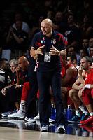 Serbia´s coach Sasha Djordjevic during FIBA Basketball World Cup Spain 2014 final match between United States and Serbia at `Palacio de los deportes´ stadium in Madrid, Spain. September 14, 2014. (ALTERPHOTOSVictor Blanco)
