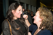 Cristina Iglesias and Rachel Whiteread, Reception, private view and dinner.; Juan Munoz- A Retrospective. Tate Modern. -DO NOT ARCHIVE-© Copyright Photograph by Dafydd Jones. 248 Clapham Rd. London SW9 0PZ. Tel 0207 820 0771. www.dafjones.com.