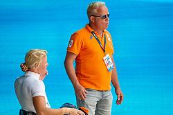 Den Dulk Nicole, Van der Heijden Maarten, NED<br /> World Equestrian Games - Tryon 2018<br /> © Hippo Foto - Dirk Caremans<br /> 18/09/2018