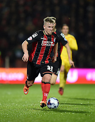 Bournemouth's Matt Ritchie in action against Liverpool - Photo mandatory by-line: Paul Knight/JMP - Mobile: 07966 386802 - 17/12/2014 - SPORT - Football - Bournemouth - Goldsands Stadium - AFC Bournemouth v Liverpool - Capital One Cup