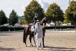 Fry Charlotte, GBR, Dark Legend<br /> CHIO Aachen 2021<br /> © Hippo Foto - Sharon Vandeput<br /> 19/09/21