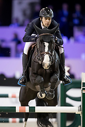 Reichmann Andre, BRA, Intro van Eeckelghem<br /> Jumping Indoor Maastricht 2016<br /> © Hippo Foto - Dirk Caremans<br /> 12/11/2016