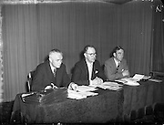 Wexford Festival Conference at Jury's Hotel .01/07/1958 .