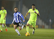 Brighton central midfielder, Beram Kayal (7) during the Sky Bet Championship match between Sheffield Wednesday and Brighton and Hove Albion at Hillsborough, Sheffield, England on 3 November 2015.