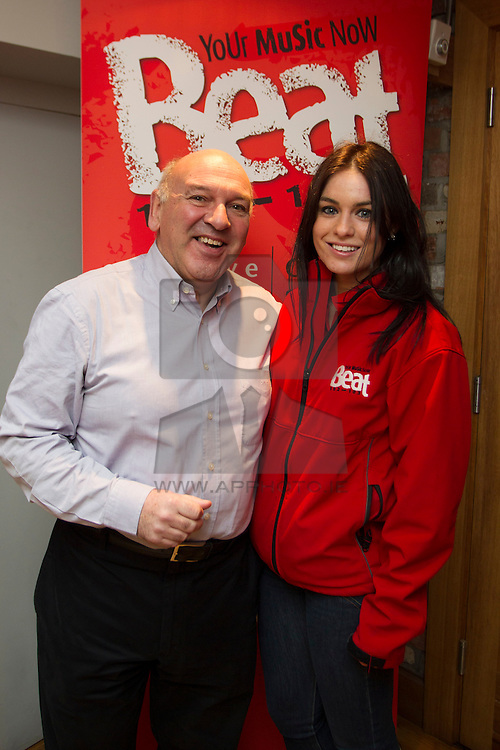 Repro Free: Trevor Bowen, Principle Management pictured with Clodagh O'Neill at Beat 102-103 agency event in Dublin to mark 102 day countdown to milestone 10th birthday in July. Invited guests were treated to a nostalgic trip down memory lane to highlight the success of the radio station over the past decade and they also gained an insight into how Beat 102-103 has achieved a significant rise in listenership figures during that time. Picture Andres Poveda