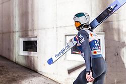 27.02.2019, Seefeld, AUT, FIS Weltmeisterschaften Ski Nordisch, Seefeld 2019, Skisprung, Herren, Training, im Bild Jan Hoerl (AUT) // Jan Hoerl of Austria during a training of men's Skijumping of FIS Nordic Ski World Championships 2019. Seefeld, Austria on 2019/02/27. EXPA Pictures © 2019, PhotoCredit: EXPA/ JFK
