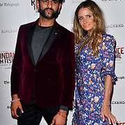 Katie Payne (Triplet Mum of Four) attend Blackbird - World Premiere with Michael Flatley at May Fair Hotel, London, UK. 28th September 2018.