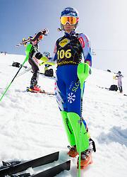 Ilka Stuhec of Slovenia during Women's Super Combined Slovenian National Championship 2014, on April 1, 2014 in Krvavec, Slovenia. Photo by Vid Ponikvar / Sportida