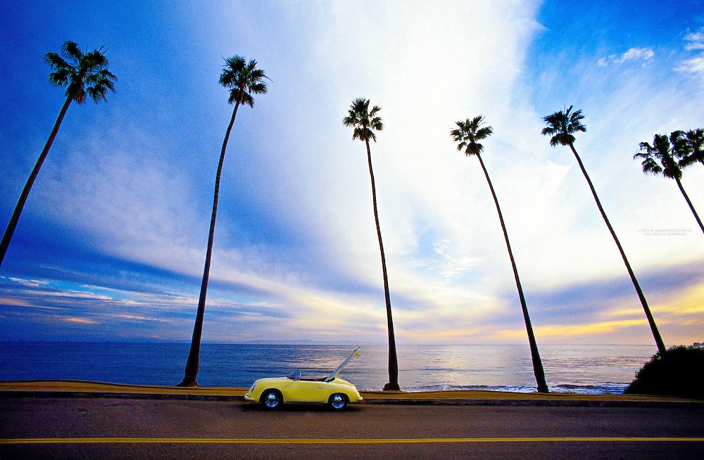 Porsche Speedster, Montecito, California