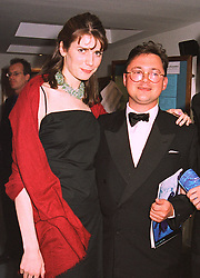 LADY SOPHIE HAMILTON and VISCOUNT DUNLUCE at a dinner in London on 6th July 1998.MIX 23 2oro