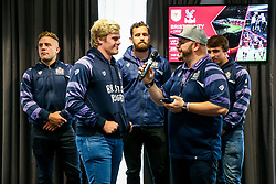 Ian Downs hosts a Q&A in the Lansdown restaurant - Rogan/JMP - 22/10/2017 - RUGBY UNION - Ashton Gate Stadium - Bristol, England - Bristol Rugby v Doncaster Knights - B&I Cup.