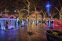 Holiday Decor @ Westlake Park, Downtown Seattle