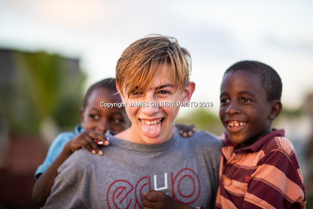 Joshua Gaetanos <br /> <br /> St Joe mission trip to Belize 2019. JAMES GILBERT PHOTO 2019