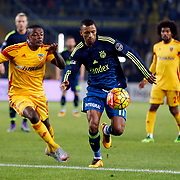 Fenerbahce's Nani (C) during their Turkish super league soccer match Fenerbahce between Kayserispor at the Sukru Saracaoglu stadium in Istanbul Turkey on Sunday 13 March 2016. Photo by Str./TURKPIX