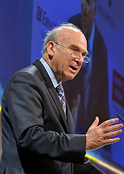 © Licensed to London News Pictures. 19/11/2012. London, UK Business Secretary Vince Cable speaks at the CBI (Confederation of British Industry's) conference at Grosvenor House Hotel today 19th October 2012 . Photo credit : Stephen Simpson/LNP