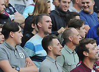Football - 2016 / 2017 Premier League - West Ham United vs Southampton<br /> <br /> <br /> Unhappy West ham fans at the Olympic Park.<br /> <br /> <br /> Credit : Colorsport / Andrew Cowie