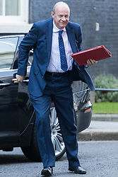 Downing Street, London, January 17th 2017. Work and Pensions Secretary Damian Green arrives back at 10 Downing Street for a second session of the cabinet meeting following British Prime Minister Theresa May's 'Clean Brexit' speech.