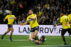 January 8, 2018 - Nanterre, Hauts de Seine, France - Clermont Wing REMY GROSSO in action during the French rugby championship Top 14 match between Racing Metro 92 and Clermont at U Arena Stadium in Nanterre - France.Racing won 58-6 (Credit Image: © Pierre Stevenin via ZUMA Wire)