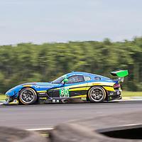 Alton, VA - Aug 26, 2016:  The Lone Star Racing ACS Manufacturing Dodge Viper GT3-R races through the turns at the Oak Tree Grand Prix at Virginia International Raceway in Alton, VA.