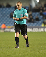Referee John Busby during the Sky Bet League 1 match at The Den, London<br /> Picture by Richard Brooks/Focus Images Ltd 07947656233<br /> 10/12/2016