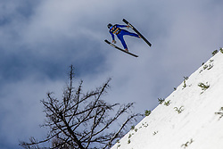Toporis Nejc of Triglav soaring through the air during testing jumps at Ski jumping Flying Hill One day before FIS World Cup Ski Jumping Final, on March 20, 2019 in Planica, Slovenia Photo by Matic Ritonja / Sportida