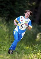 Orientering, 21. juni 2002. NM sprint. Hanne Staff, Bækkelaget.