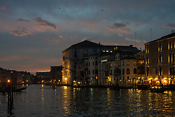 General views of Venice at sunset. From a series of travel photos in Italy. Photo date: Monday, February 11, 2019. Photo credit should read: Richard Gray/EMPICS Entertainment